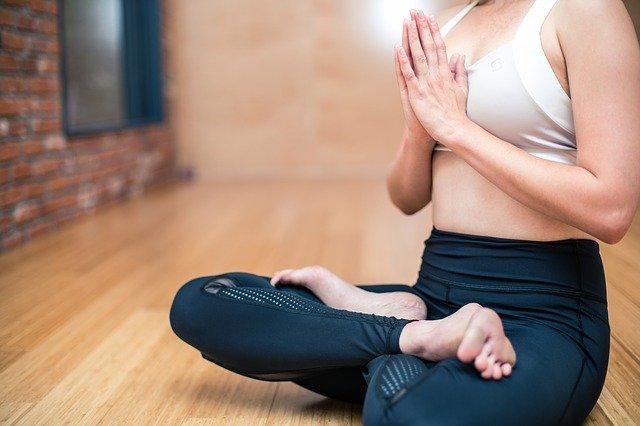 žena, jóga