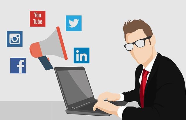 Sociální média na internetu