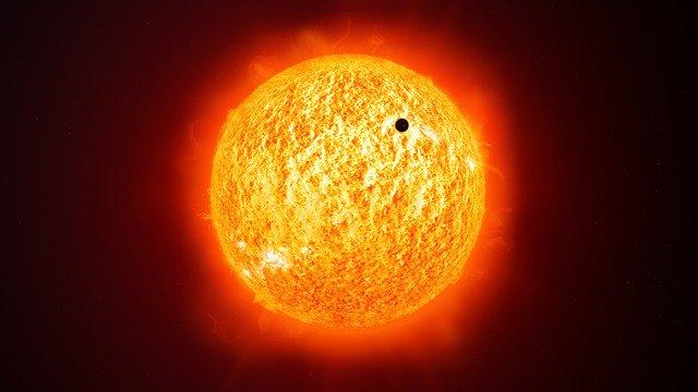 Merkur v pozici před Sluncem